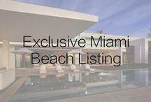 Exclusive Miami Beach Listing