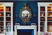 Lapis, Azul, Indigo Rooms / by Maureen Stevens