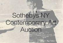 Sotheby's NY Contemporary Art Auction