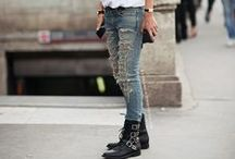 HOW TO WEAR DENIM / #jeans #rippedjeans
