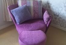 6. Chairs / Chairs, to match the sofa, statement pieces, electric, recliners, swivels - in any fabric and many in leather.