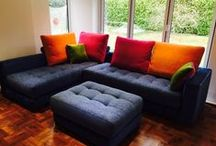 3. Corner or chaise sofa units / Bespoke, made to measure, tailor made & customised standard or modular, sectional, combi seating units.  All our UK & European corner & chaise sofas are of exceptional quality, using hard wood frames - many from sustainable, eco friendly sources.