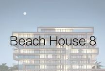 Beach House 8  / Beach House 8, located on 36th and Collins in Miami Beach, consists of a series of shifted frames, expressing a series of eight homes in a very pure and abstract way…the dynamic movement of Miami, all the energy of the ocean waves.