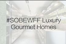 #SOBEWFF Luxury Groumet Homes  / In honor of South Beach Wine & Food Festival we've rounded up the most incredible ONE Sotheby's listings that are equipped with gourmet kitchens, wine cellars and more that will impress any kind of chef.