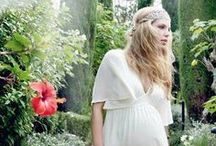 MATERNITY STYLE - SUMMER WHITES / Explore romantic whites and boho summer style for a fashionable pregnancy.  Maternity Style | Maternity Fashion | Maternity Clothes | Pregnancy Style | Pregnancy Fashion | Baby On Board | Maternity Wardrobe.
