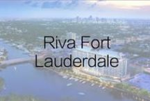 Riva Fort Lauderdale / Riva Fort Lauderdale will feature 100 extraordinarily large, exceptionally well designed residences with stunning ocean-sunrise-to-city-sunset views. For more information about this exclusive development visit the Riva Sales Gallery located at 1180 N. Federal Highway in Fort Lauderdale.