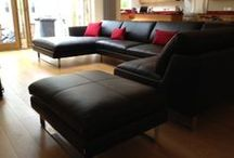 Lovely leather / Examples of our customer commissions in leather, to help you see how your chosen model may look...