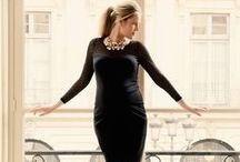 BONJOUR PARISIAN CHIC - MATERNITY STYLE / An ode to all things Parisian chic... From kissing under the Eiffel Tower to LBDs, pearls and expensive French perfume.  Maternity Style | Maternity Fashion | Maternity Clothes | Pregnancy Style | Pregnancy Fashion | Baby On Board | Maternity Wardrobe.