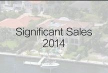 Significant Sales 2014