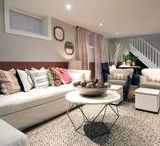 Basement and Bonus Room Inspiration and Ideas