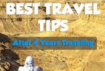 Travel tips / Travel hacks, experimented travelers | Conseils de voyage, voyageurs expérimentés