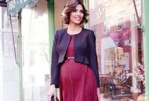 HOW TO WEAR RED WHEN YOU'RE PREGNANT - MATERNITY STYLE / Be bold with your maternity style and wear red!  Maternity Style | Maternity Fashion | Maternity Clothes | Pregnancy Style | Pregnancy Fashion | Baby On Board | Maternity Wardrobe.