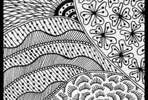 Tangle Patterns and Inspiration