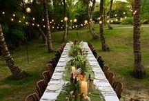 Event / event inspiration | parties + weddings