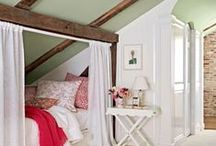 Guest/fun/attic rooms / by Tonya Shields