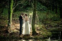 Theme: Woodland Wedding / We LOVE the outdoors and woodland weddings. Here is a collection of ideas for a more rustic forest wedding