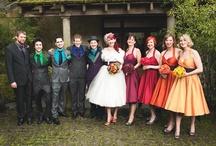 Colour: Rainbow wedding