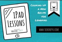 iPad Lessons / iPad Lessons and Student Examples.   Also check out the new TechChef4u FB! https://www.facebook.com/techchef4u / by TechChef4u