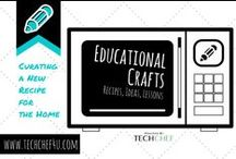 Educational Crafts / Crafts that Blend Learning!