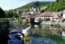 Franche-Comté / Images of the beautiful region Franche-Comté in the East of France