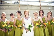 Colour: Chartreuse Green wedding / With the snow melting to reveal tender green shoots we wanted to share our best inspiration for a glorious spring wedding
