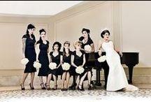 Theme: Black & White Halloween Wedding