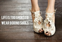 Shoes in action