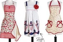 Busy Kitchen, Aprons, Potholders, ect