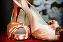 Colour: Peach wedding
