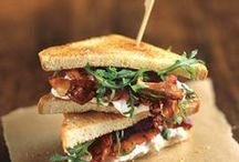Tasty Sandwiches / by Megan Yelle van Hamersfeld