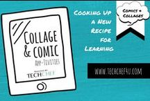 Collage/Comic App-tivities / Collage and Comic creation App-tivities across the Curriculum. The apps shared can be used PreK-12 and beyond. Here are a few of the apps featured: Strip Designer, Comic Life, Pic Collage, Scrap-It, Turbo Collage, Comic Book!, Phoster, Lifecards, Comic Touch, Frame Magic, Albums FX, Designs for Pages, Scrap Pad (and Movie Collage), Visualize, My Album app, Flowboard, Instacollage Pro, etc...