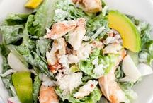 Ill have the Big salad / salads / by Megan Yelle van Hamersfeld