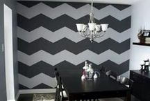 All things Chevron!  / Chevron is just a fun pattern on anything!  / by Melody Shaw