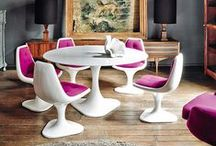 Inspiring Interiors / Colorful rooms that interest my eyeballs.