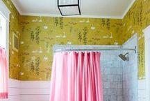 Bathroom Scheming / Ideas for my bathroom re-do.