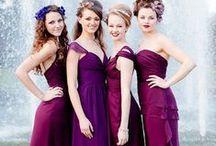 Colour: Berry tones wedding