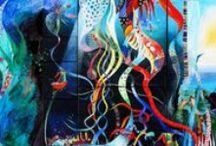 Art by the Art en France artists / Art by the Art en France artists/Des oeuves des artistes d'Art en France  http://www.art-en-france.eu