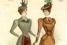 Historical Costuming / Fashions from the 1890s for replication in historical reenacting and interpretation.