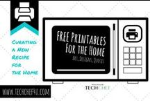 Free Printables For the Home / Snazz Up Your Walls with These FREE Printables!