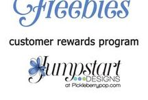 Freebies from Jumpstart Designs / Subscribe to the latest new releases and weekly FREEBIES from Jumpstart Designs!  http://eepurl.com/_n3KX  https://www.pickleberrypop.com/shop/manufacturers.php?manufacturerid=102