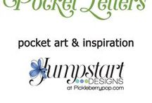 Pocket Art & Letters / Pocket art and inspiration  https://www.pickleberrypop.com/shop/manufacturers.php?manufacturerid=102