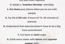 Workout, Health /  A lifestyle I will never achieve