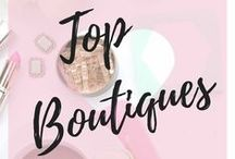 Top Boutiques / Boutiques from all around the world posting their items, so you can shop all on one board!