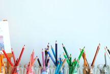Ideen für Kinder (oft Montessori inspiriert )