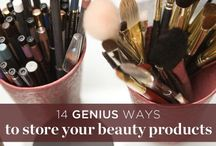 Beauty Product Crazy! / Favorite products, fun tools and tricks / by Rebecca C