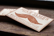 Design : Business Cards / by Mary Ellen