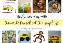 Preschool teachers, unite! / by Clara Mateo