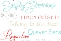 Fabulous fonts / by Claire Jenkins