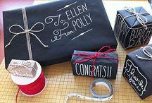 RegalitOs & tArjetaS: gift wrap and cards