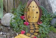 Fairy Garden / How could you not love these adorable Fair House ideas? / by Ingrid O'Brien
